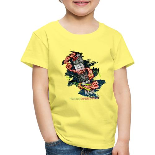 where s daddy? - Kinder Premium T-Shirt