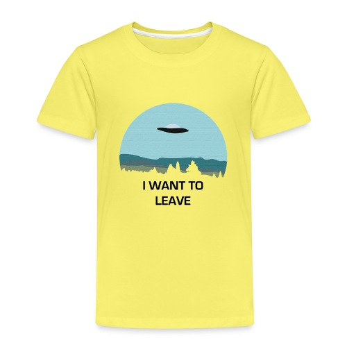 I Want To Leave - Kids' Premium T-Shirt