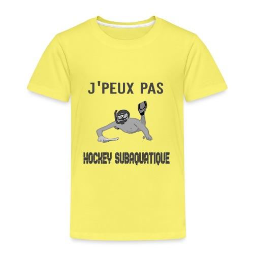 j'peux pas j'ai hockey subaquatique - T-shirt Premium Enfant