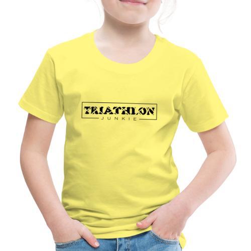 Triathlon Junkie - Kinder Premium T-Shirt