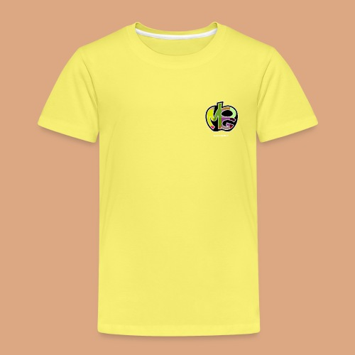 logo con sito bianca - Maglietta Premium per bambini