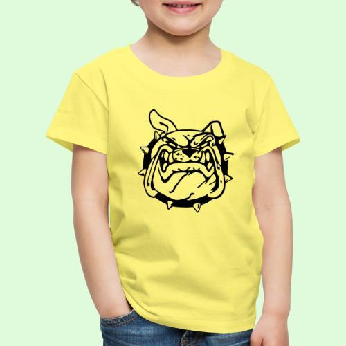 Bulldog souriant - T-shirt Premium Enfant