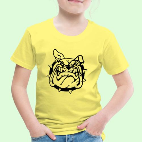 Bulldog souriant - T-shirt Premium Enfant