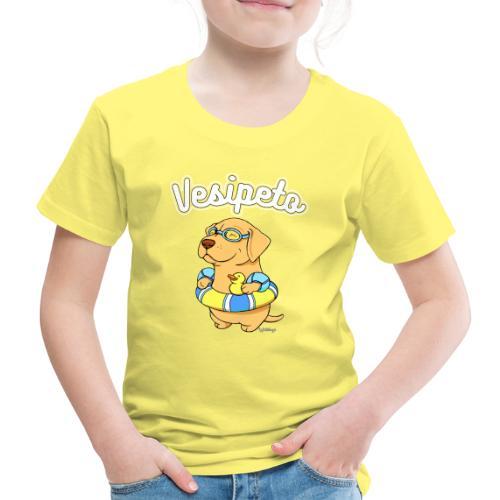 vesipeto1 - Lasten premium t-paita