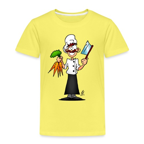 The vegetarian chef - Kids' Premium T-Shirt
