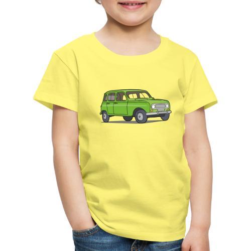 Grüner R4 (Auto) - Kinder Premium T-Shirt