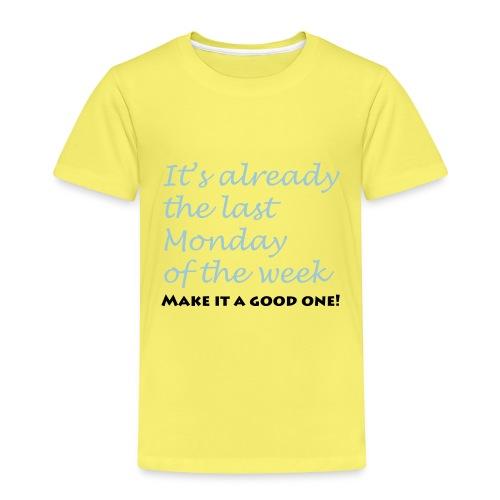 lastmonday - Kinder Premium T-Shirt