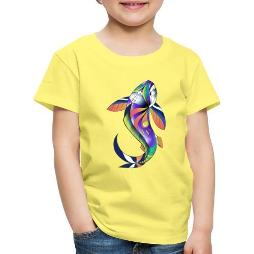 Regenbogen Fisch - Kinder Premium T-Shirt