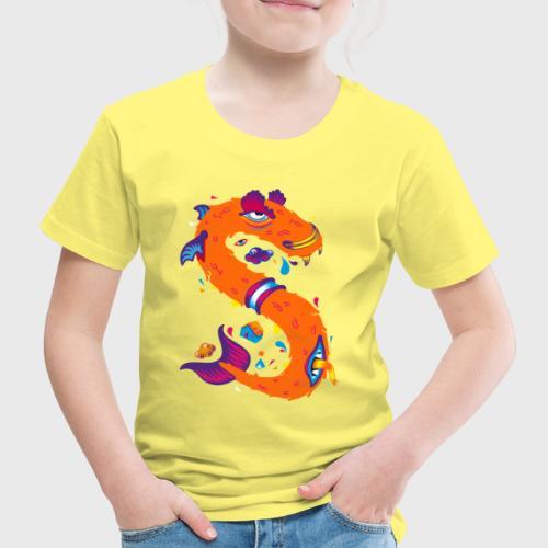 Lettre S comme Snake - T-shirt Premium Enfant