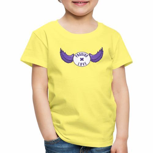 Passion x Love (Purple/Lilac) - Kids' Premium T-Shirt