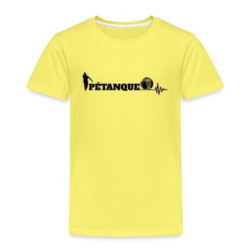 Pétanque Sport Schrft T-Shirt - Kinder Premium T-Shirt