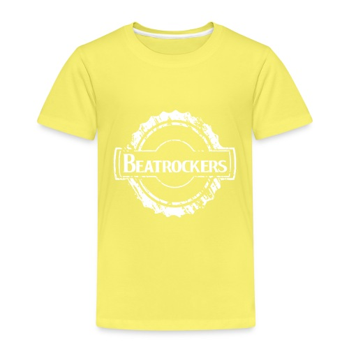 Beatrockers - The Band | Kick Logo white - Kinder Premium T-Shirt