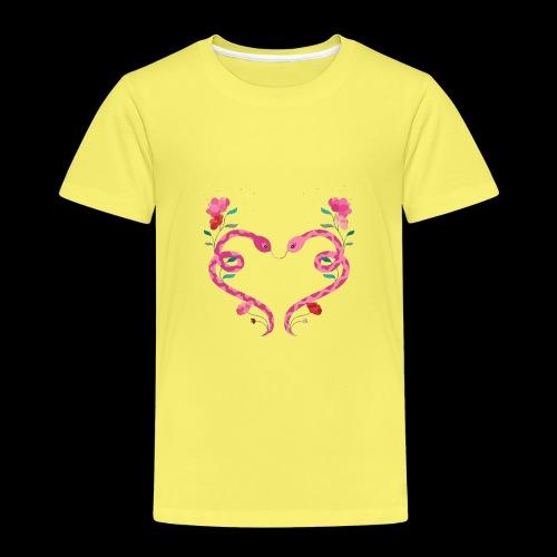 Coeur de serpents - T-shirt Premium Enfant