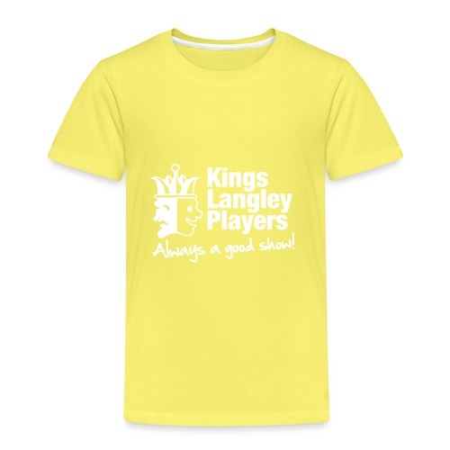 KLP White Shirt Logo - Kids' Premium T-Shirt