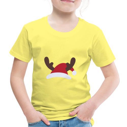 Santa hat Embroidery - Koszulka dziecięca Premium