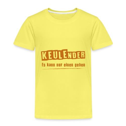 KEULEnder ORANGE - Kinder Premium T-Shirt