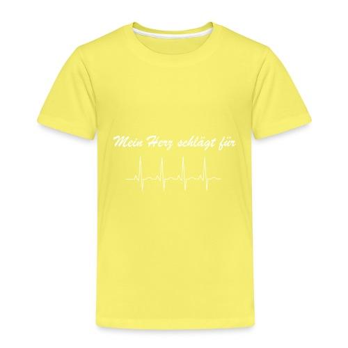 Mein Herz schlaegt fuer - Kinder Premium T-Shirt