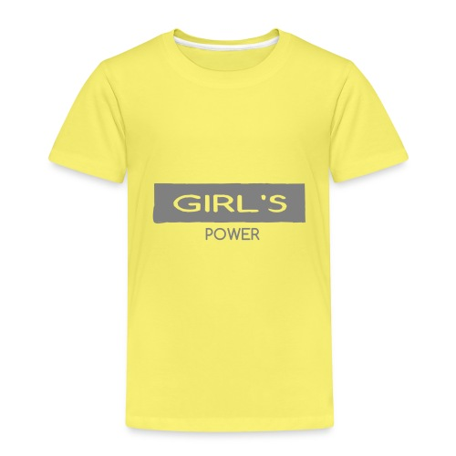 GIRLS - Camiseta premium niño