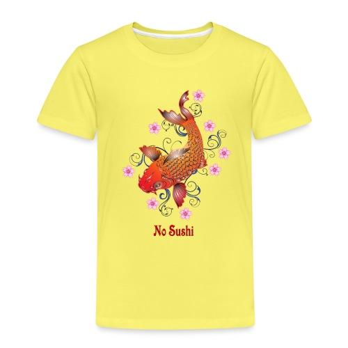 No Sushi, Fischmotiv - Kinder Premium T-Shirt