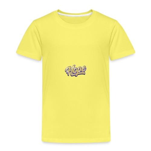 Hope lettering - Camiseta premium niño