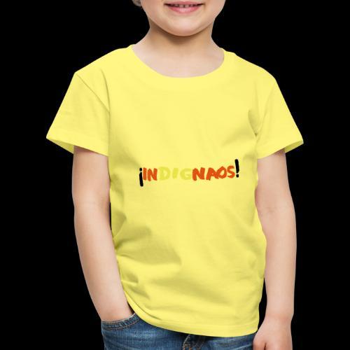 indignaos! - Kinder Premium T-Shirt
