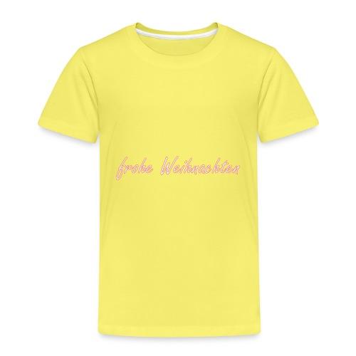 frohe Weihnachten weihnachts-shirt - Kinder Premium T-Shirt