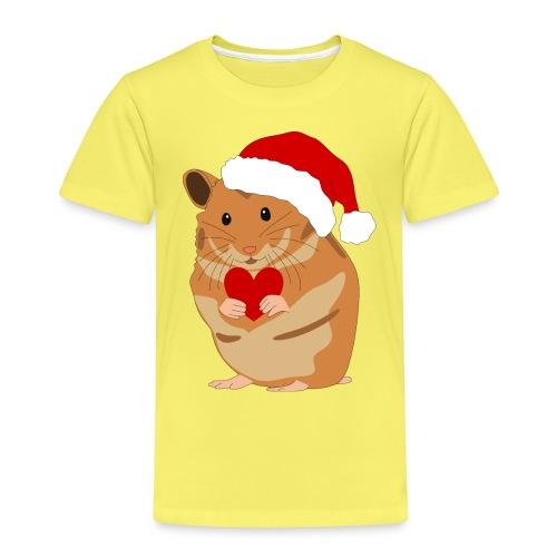Weihnachtshamster Weihnachten Hamster Geschenk - Kinder Premium T-Shirt