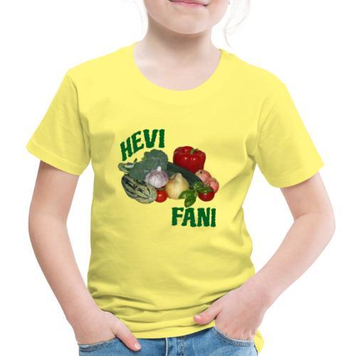 Hevi-fani - Lasten premium t-paita