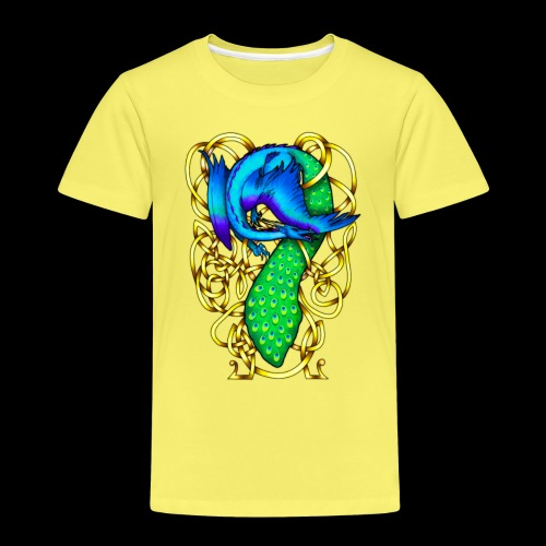 Peacock Dragon - Kids' Premium T-Shirt