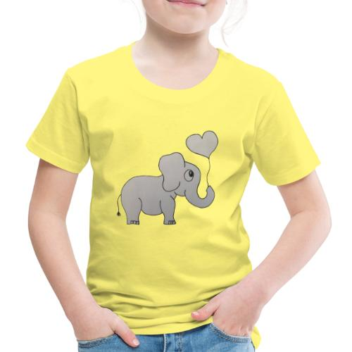 LackyElephant - Kinder Premium T-Shirt