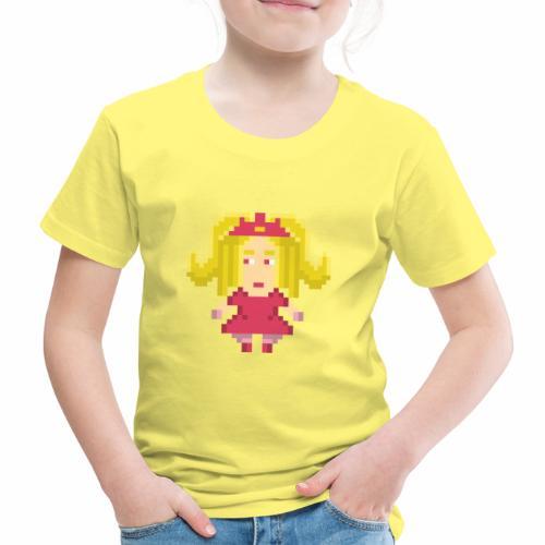 Pixel Princess in pink - Maglietta Premium per bambini