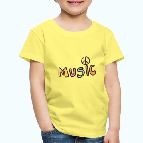 Hippie Music - Kids' Premium T-Shirt
