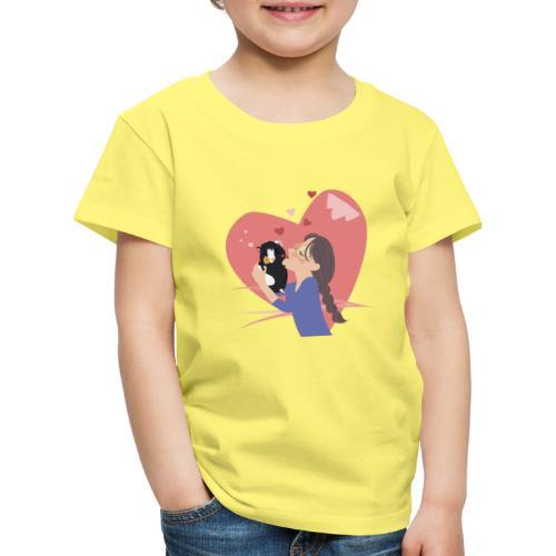 A big hug! Een dikke knuffel voor jou! - T-shirt Premium Enfant