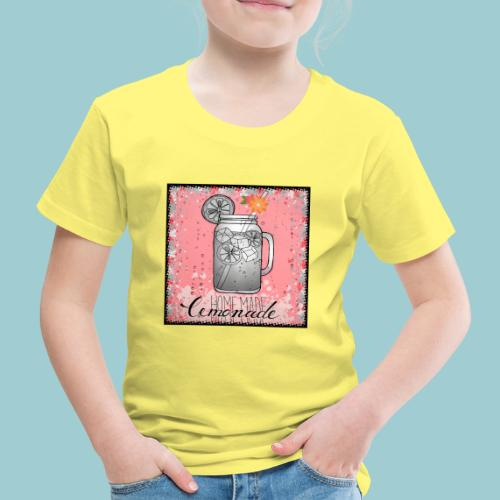 Summer Lemonade - Kinder Premium T-Shirt