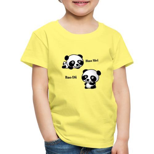 Bao Di Bao mei les petits pandas - T-shirt Premium Enfant