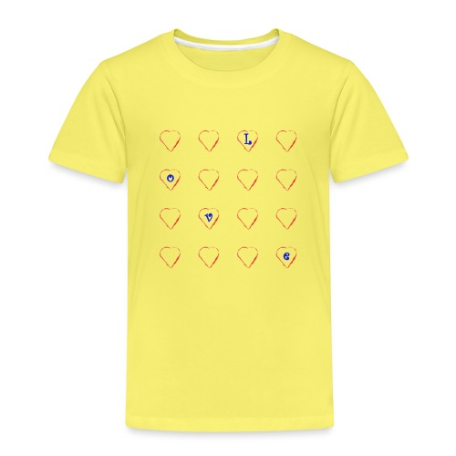 Heart Love #2 - Kinder Premium T-Shirt