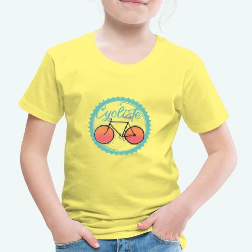 Le Cycliste - Kinder Premium T-Shirt