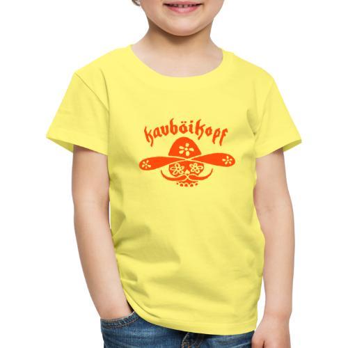 Kauboikopf - Kinder Premium T-Shirt