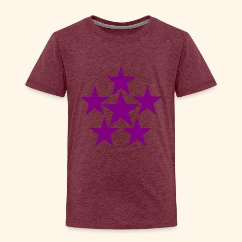 5 STAR lilla - Kinder Premium T-Shirt