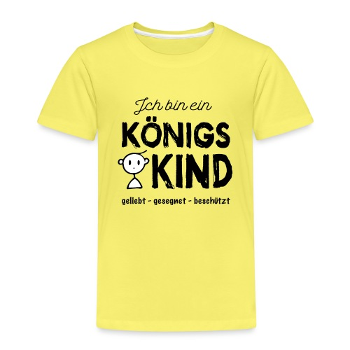 Sany O. Ich bin ein Königs Kind - Kinder Premium T-Shirt