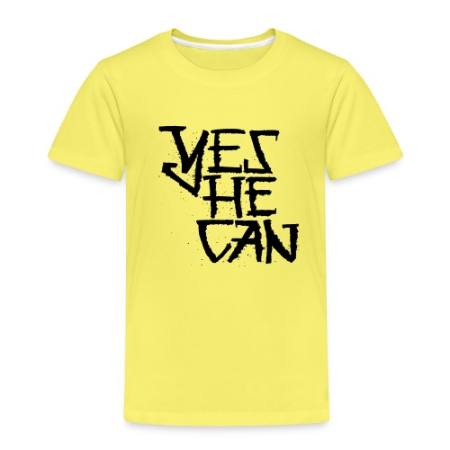 Yes He Can - Kinder Premium T-Shirt