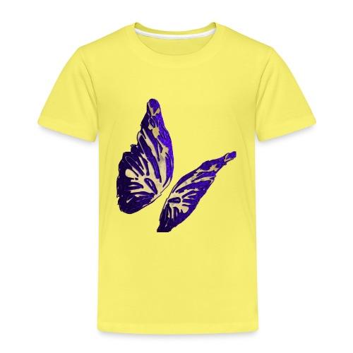 Golden Butterfly 2 - incantevole farfalla colorata - Maglietta Premium per bambini