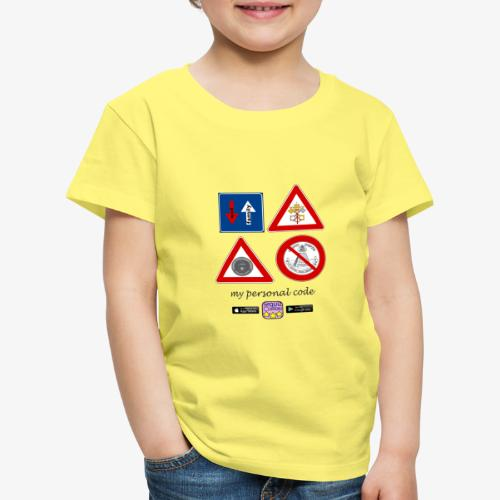 My personal code - Maglietta Premium per bambini