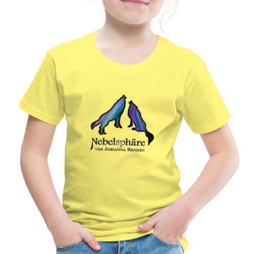 Wölfe Bunt - Kinder Premium T-Shirt