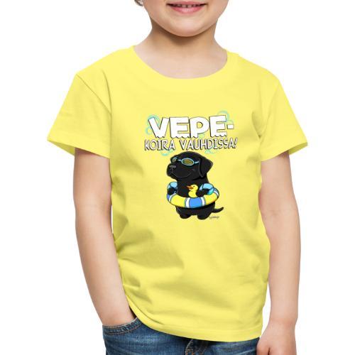 vepevauhti3 - Lasten premium t-paita