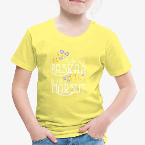 Paitsi Marsut II - Lasten premium t-paita