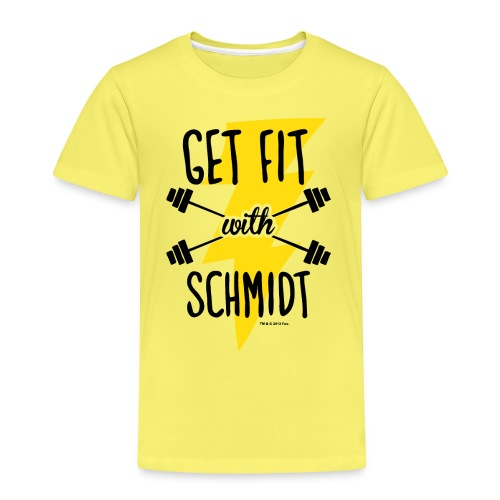 NewGirl Get fit with Schmidt - Kinder Premium T-Shirt