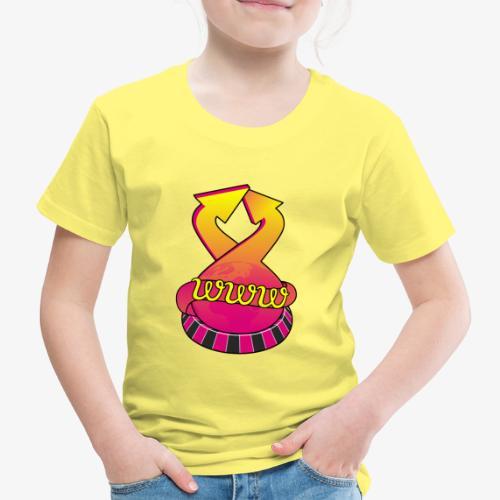 UrlRoulette logo - Kids' Premium T-Shirt