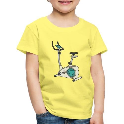 Heimtrainer Trimmdich-Rad - Kinder Premium T-Shirt