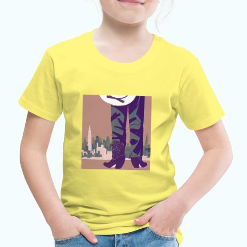 Texas vintage travel poster - Kids' Premium T-Shirt